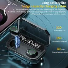 3500mAh LED Bluetooth V5.1 Wireless Earphones Earbuds TWS To