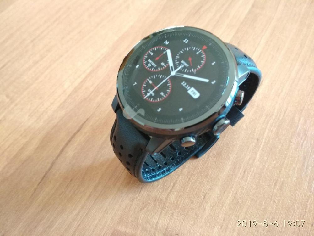 Relógios inteligentes genuie safira safira
