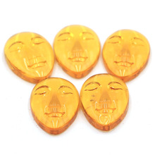 Stunning 22x15mm Honey Quartz Goddess Face Cabochon Cab (5 Piece) Gift For Girls
