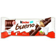 Kinder Gooder Pack of 2 bars, 43 grams brand ferrero rocher