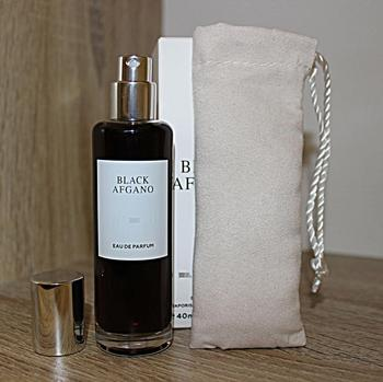 Super Deal #7762 Perfume Black Afgano 40 Ml, In A Velor