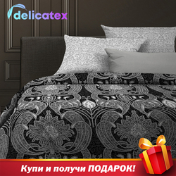 Bedding Set Delicatex 6468-1+6469-1-Hamburg Home Textile Bed sheets linen Cushion Covers Duvet Cover Рillowcase