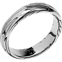 Esthete ring collection totem wolf/wolf of silver