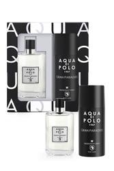 Aqua Di Polo 1987 Gran Paradise Мужские духи-спрей набор дезодорантов
