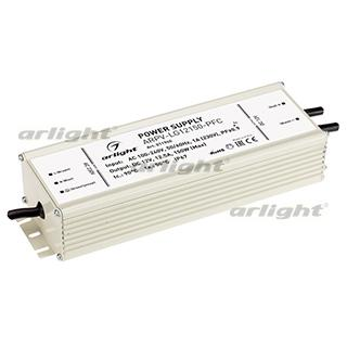 011940 Power Supply ARPV-LG12150-PFC (12 V, 12.5A, 150W [IP67 Metal 5 Years Old] Box-1 Pcs ARLIGHT-Блок Power Supply/AC/DC ^ 21