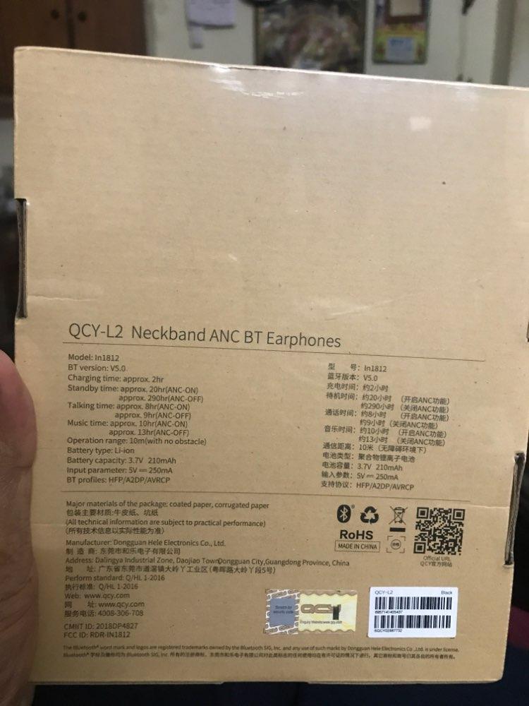 QCY L2 Wireless Headphones IPX5 Waterproof ANC Noise cancelling Wireless Earphones Bluetooth 5.0 Sport Headphones with Mic|Bluetooth Earphones & Headphones| |  - AliExpress