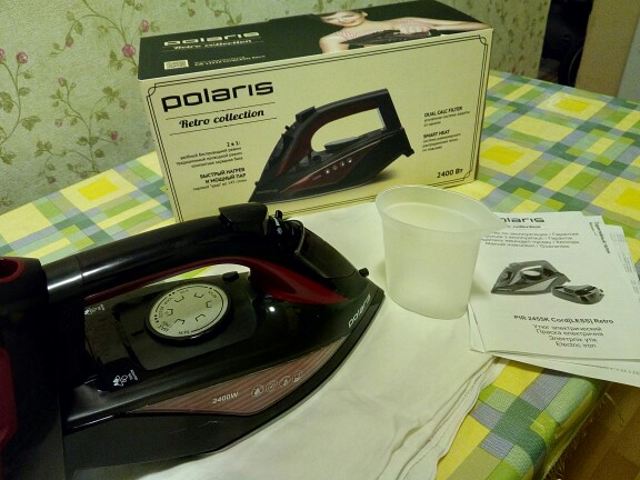 Iron Polaris PIR 2455 K Iron for ironing Mini iron steam iron Steam generator for clothing Irons Electric steamgenerator Small-in Electric Irons from Home Appliances on AliExpress
