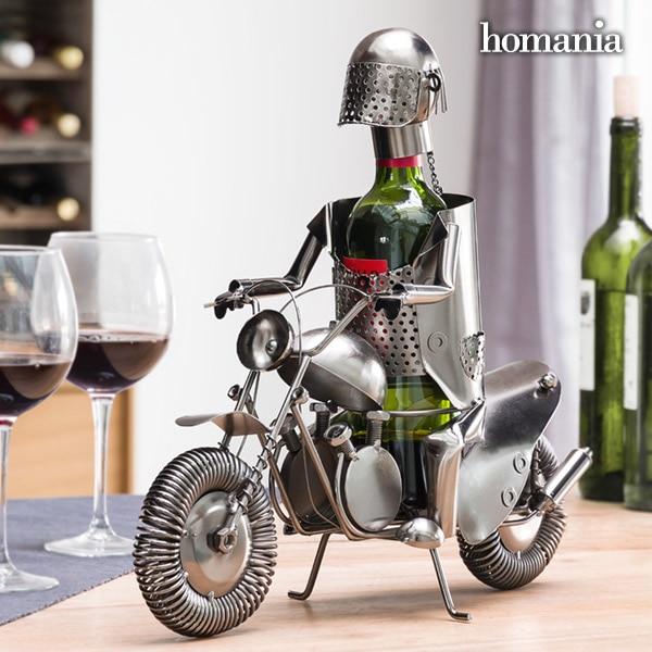 Biker By Homania Metallic Wine Rack