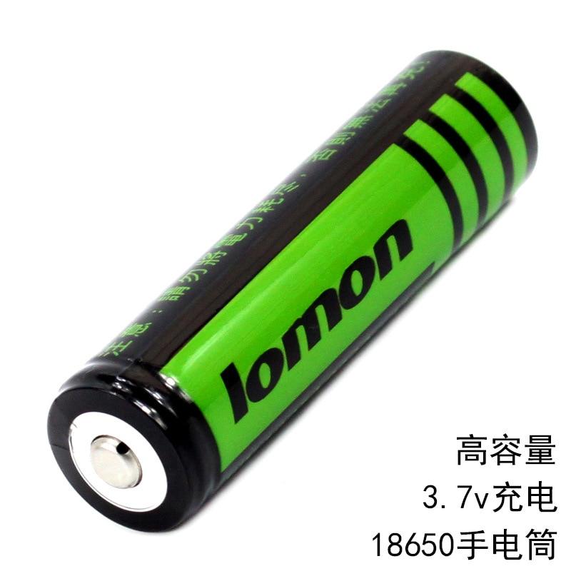 Аккумулятор LOMON 18650 2800mAh 3,7 V Li-ion оригинал хорошо держит заряд литиевый перезаряжаемая батарея