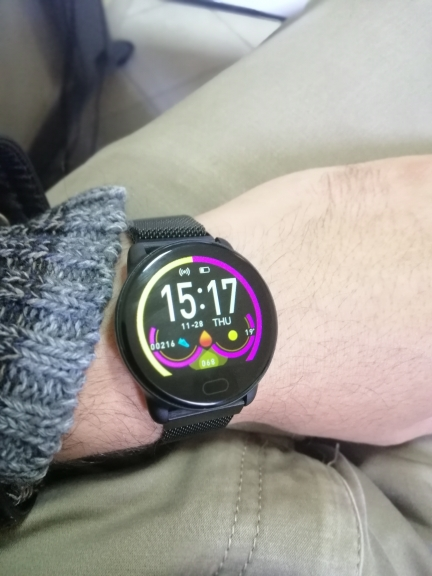 GEJIAN Smart Watch Fitness Tracker with Heart Rate Blood Pressure Monitor Men Women Outdoor Waterproof Sport Watches Pedometer Smart Watches    - AliExpress
