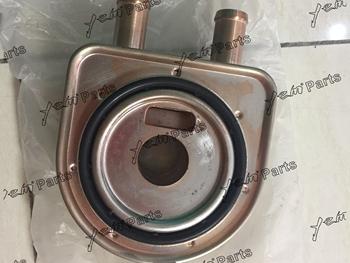 Dla silnik kubota V3300 rdzeń chłodnicy oleju tanie i dobre opinie Mechanizm korbowy 2019 4 CYLINDRY Oil cooler core Made in China