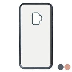 Pokrowiec na telefon Samsung Galaxy S9 KSIX elastyczny metalowy TPU elastyczny