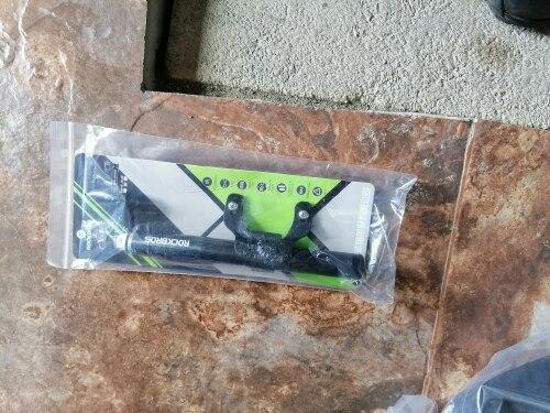 Mini Portable Light Aluminum Alloy Bicycle Air Pump photo review