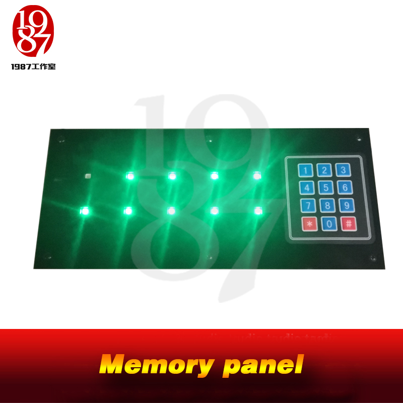 JXKJ1987 Real Life Escape Room Game Adventure Puzzles Remember The Sequence Of Light Flashing Enter Correct Numbers To Unlock