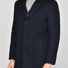 PLT8331 Пальто DEWBERRY-темно-синий