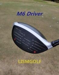 2019 абсолютно новый M6 драйвер M6 гольф-клуб 9/10. 5 градусов R/S Flex FUBUKI TM-5 вал с крышкой головы Бесплатная доставка