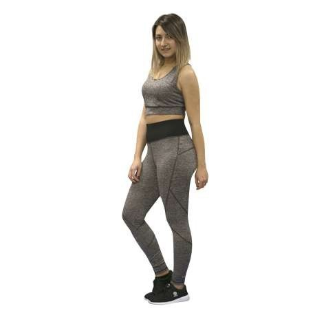 LEGGING SOFTEE FIT ALEXIA - TALLA L - COLOR GRIS VIGORE