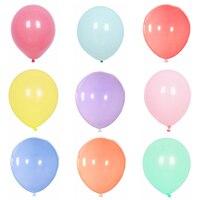 Globos de color macaron para fiesta cumpleaños boda decoración 2.35g 30cm y 2.8g 35cm juguete para niños Globos y accesorios    -