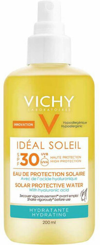 Vichy Ideal Soleil Hydrating Solar Protective Water Spf 30 200 Ml