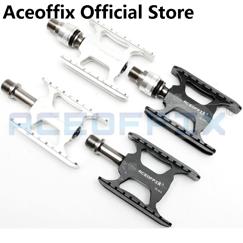 Aceoffix For Brompton Bike Ultralight Pedal Quick Release Adaptors for MKS