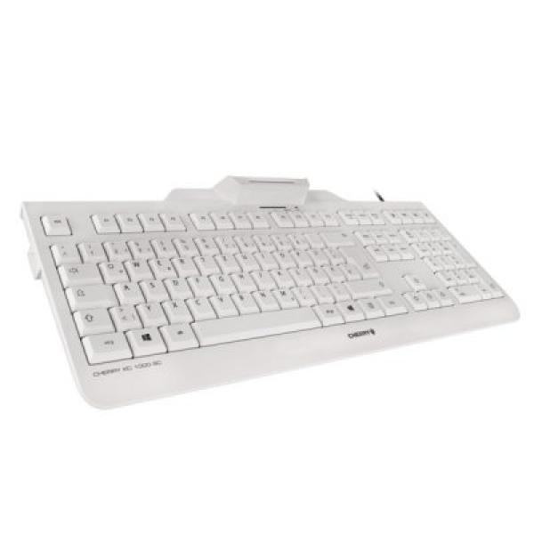Keyboard With Reader Cherry JK-A0100ES-0 White
