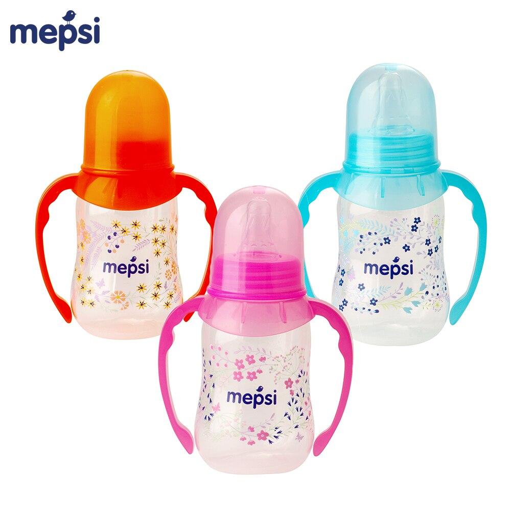 Bottles MEPSI 0202 Baby Kids Children nipple Feeding with handles