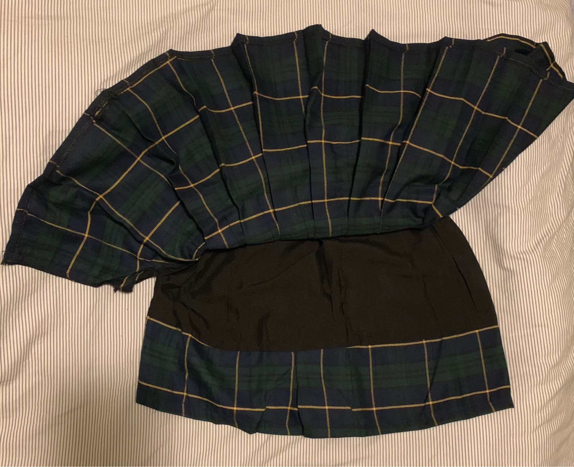 Harajuku E-girl Tartan Women Skirt photo review