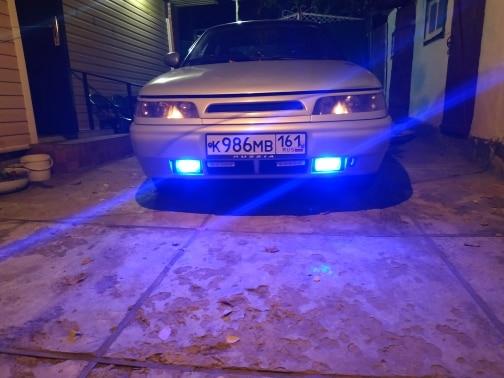 Farol nebl. carro Branco Branco Substituição