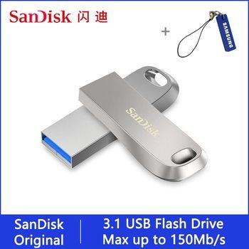 Sandisk 32 64 128 16 GB Pen Drive USB Flash Stick Disk USB 3.1 Mini Pendrive 128gb 64gb 32gb 256gb USB Flash Drive on Key Memory
