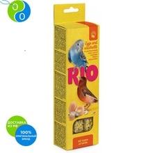 Рио Палочки с яйцом и ракушечник для всех видов птиц 2х40г