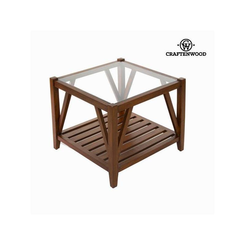 Center Table With Glass-Collection Serious Line By Craftenwood