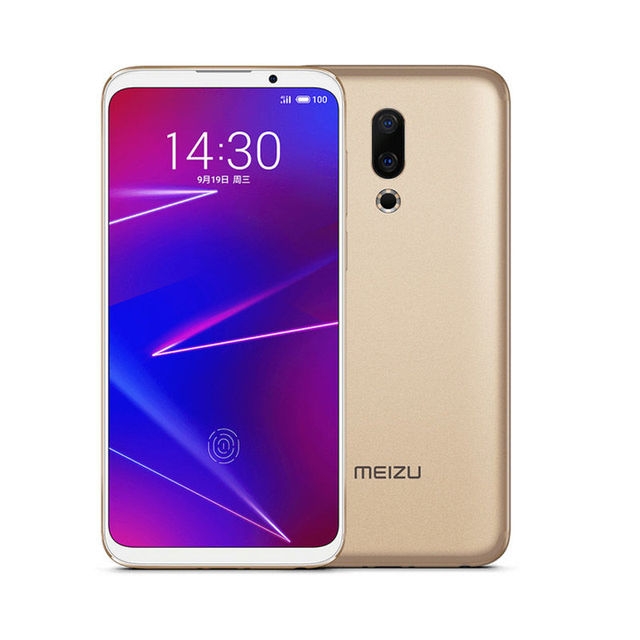 Global ROM Meizu 16X 6.0 Inch 4G LTE Smartphone Snapdragon 710  Dual Rear Cameras Android 8.1 In-Display Fingerprint Full Screen 4