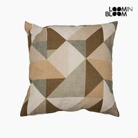 Cushion (60 x 60 x 10 cm) Cotton and polyester Beige|Neck Pillow| |  -