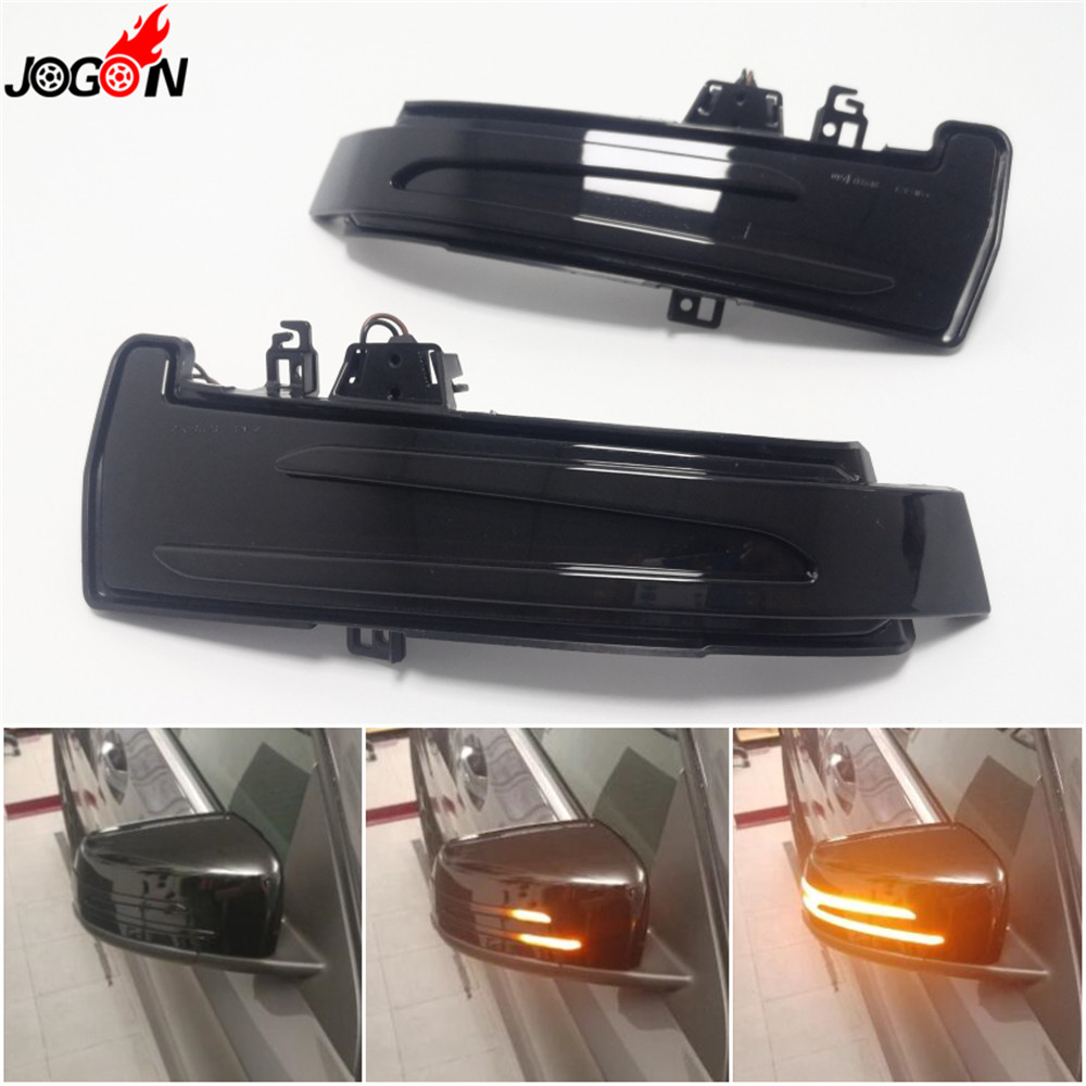 Dynamic Turn Signal Rearview Mirror Indicator Blinker Light For Mercedes Benz A B C E S CLA GLA CLS W176 W246 W204 <font><b>W212</b></font> X156 image