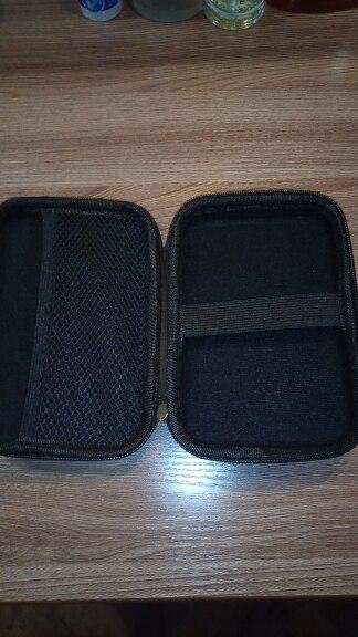 ORICO 2.5 Hard Disk Case Portable HDD Protection Bag for External 2.5 inch Hard Drive Earphone U Disk Hard Disk Drive Case Black reviews №3 43354