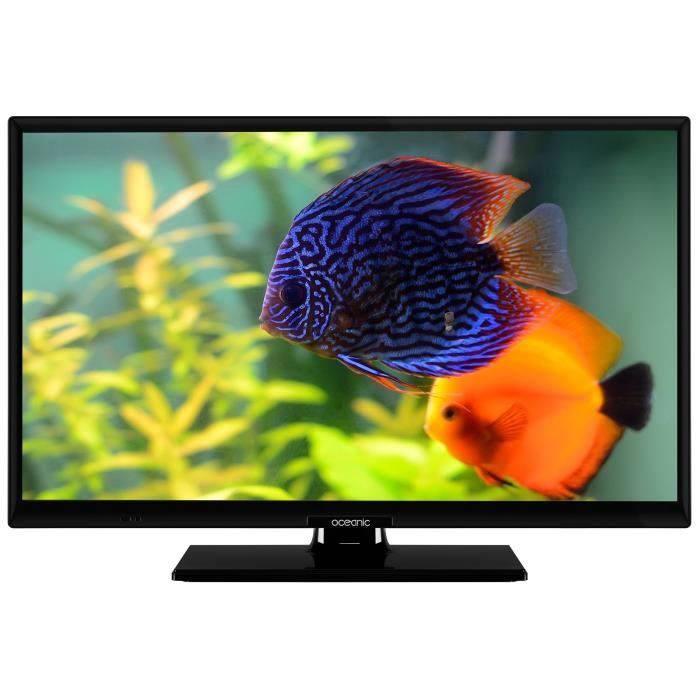 oceanic tv led hd 24 60 cm smart tv 1366x720 2x hdmi 1xusb wi fi netflix youtube