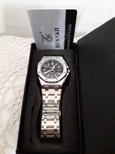 New BENYAR Fashion Men Watches Male Top Brand Luxury Quartz Watch Men Casual Waterproof Sports WristWatch Relogio Masculino Box