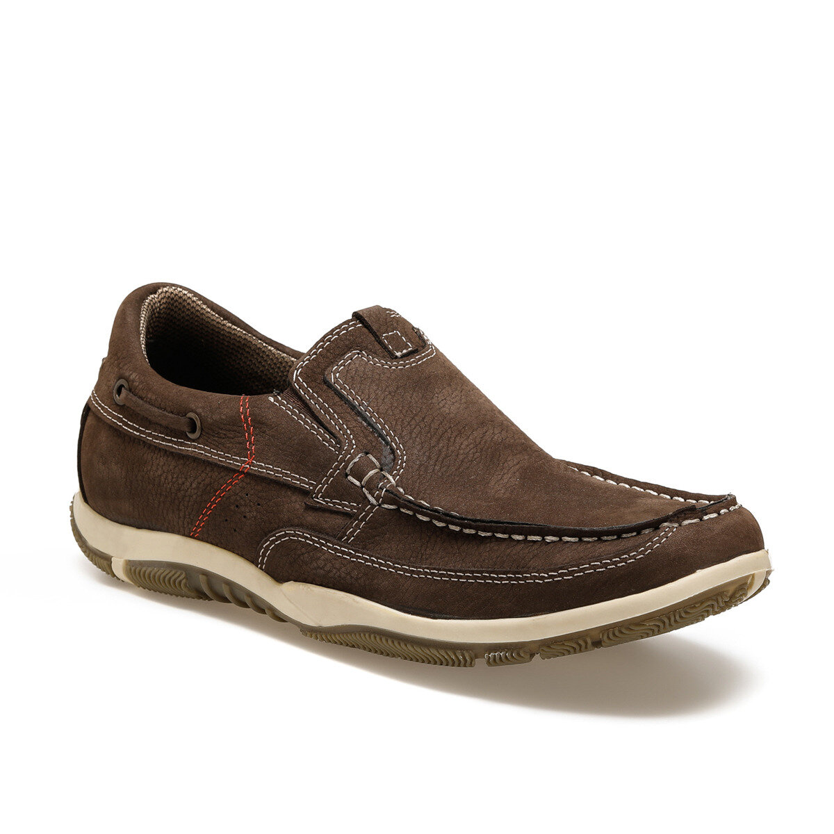 FLO 5075-N C Sand Color Men Shoes Oxide