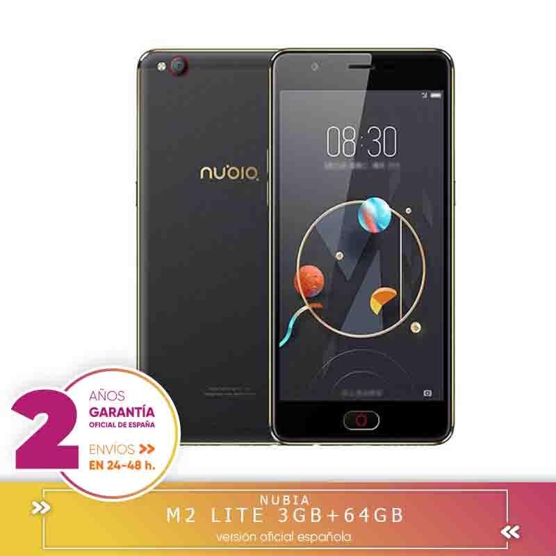 -Square Warranty-Nubia M2 Lite 5.5 Inch Single 3 Hard GB RAM 64 Hard GB ROM MTK6750 Eight Core 1.5GHz 4G Smartphone