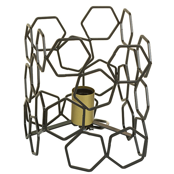 Desk Lamp Aluminium (19 X 19 X 24 Cm)