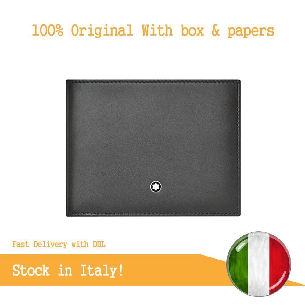 Montblanc Meisterstück Selection Sfumato Brieftasche 6 Cc Porta Carte Di Credito, 12 Cm