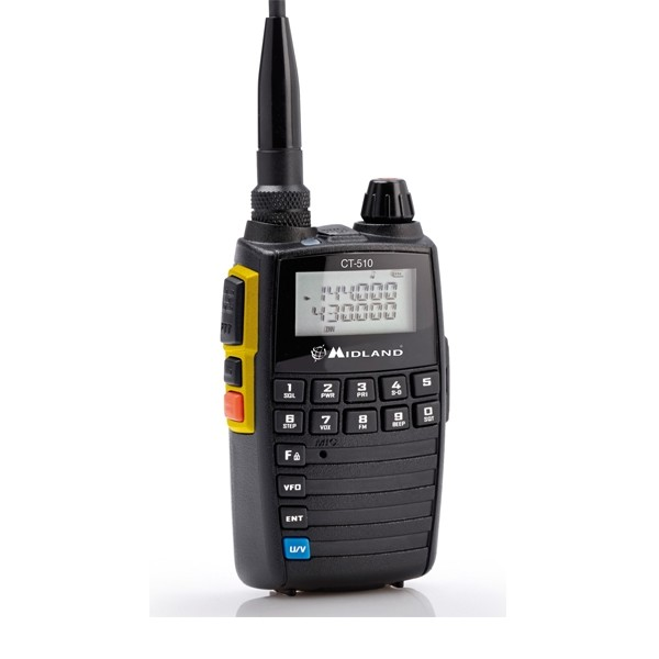 Walkie VHF-UHF Bibanda CT510 Midland