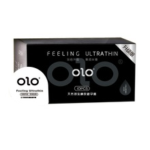 OLO High Sensation Hyaluronic acid Condoms Smooth Natural Latex Condom Intimate Goods for Men Penis Sleeve Safer Contraception