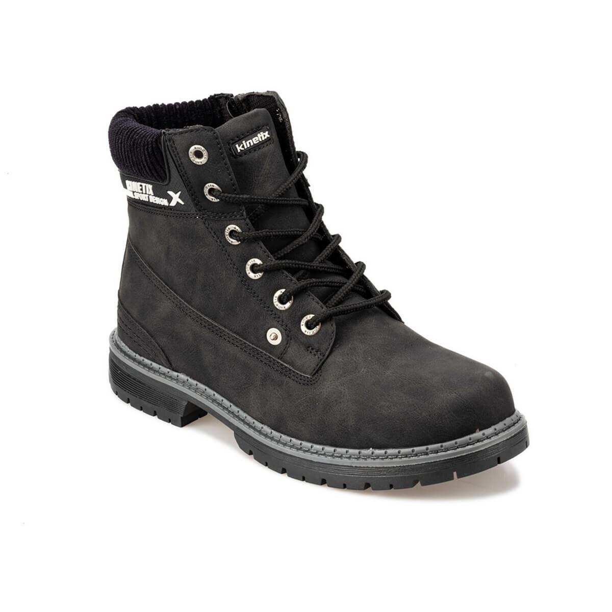 FLO Black Men Boots Casual Zipper Winter Boots Men Safety Shoes Boots For Men KINETIX IRON 9PR