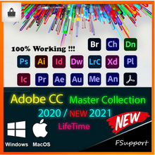 Adobe Master CC 2020/2021 Mac & Windows -【STABLE & RELIABLE】