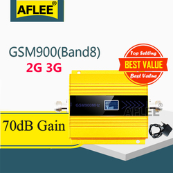 1PCS GSM Repeater 2G 3G 900Mhz Mobile Phone Signal Booster UMTS GSM 900 3G Repeater GSM 2G Cellular Signal gsm 900 2g Amplifier