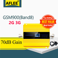1PCS GSM Repetidor 2G 3G UMTS 900Mhz Mobile Phone Signal Booster GSM 900G Repetidor 3 GSM 2G g Amplificador de Sinal De Celular gsm 900 2