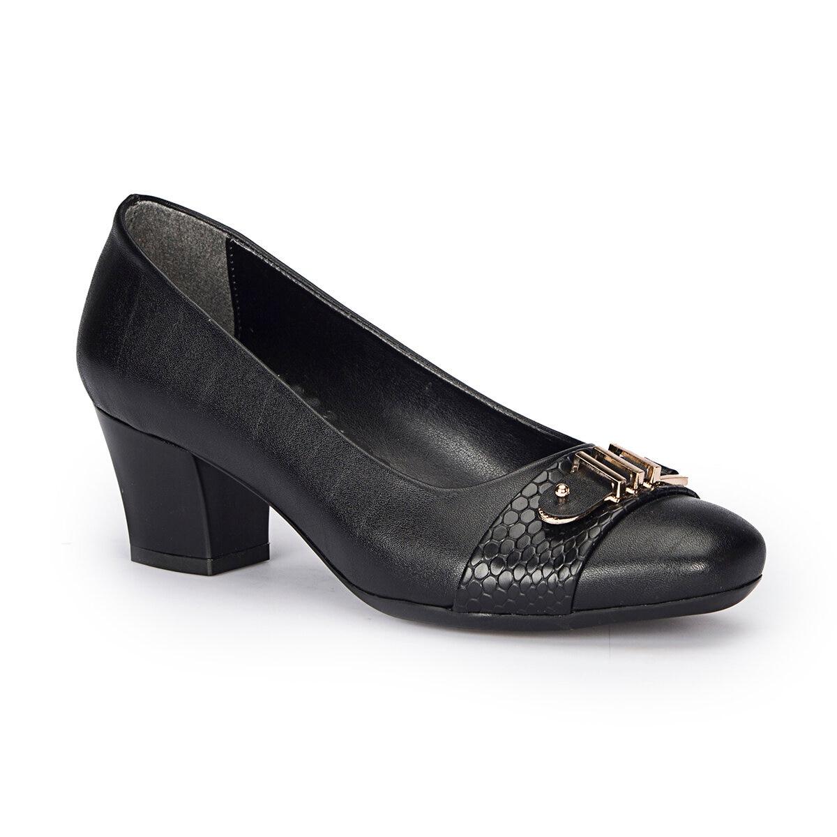 FLO 72.310264.Z Black Women Shoes Polaris
