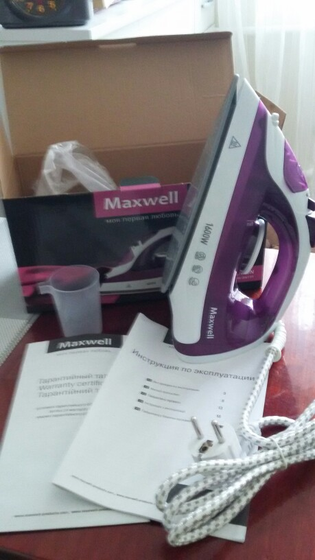 Утюг Maxwell MW-3041