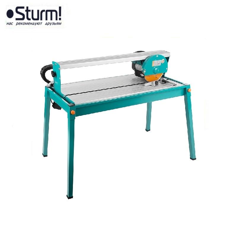 TC9821U Sturm tile cutter, 1200 W, 2950 rpm, disc 200x25.4x2.4 mm, upper engine table Tile splitting Cut tile without breaking electric table tile denzel 96505